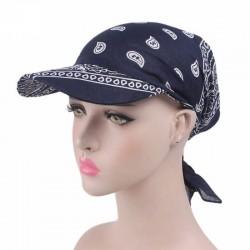 Casquette foulard chimio