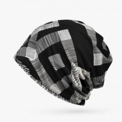 Bonnet Chimio Homme - Motif Géométrique