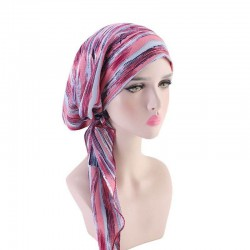 Turban bonnet chimio original