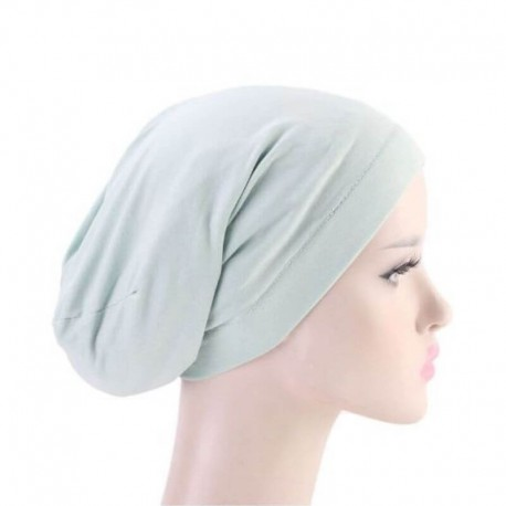 Bonnet chimio satin-coton